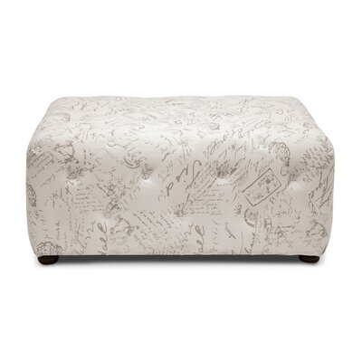 Baxton Studio Teague Cocktail Ottoman