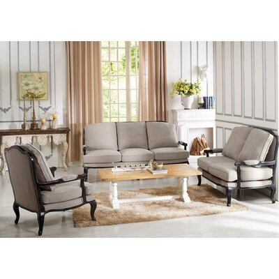 Bem 3 Piece Living Room Set