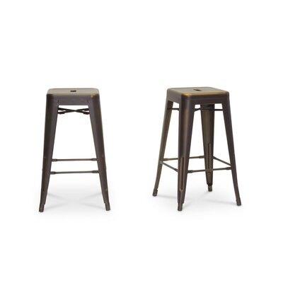 Baxton Studio 26.5 Bar Stool