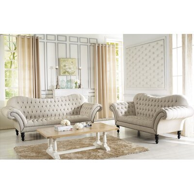 Baxton Studio 2 Piece Living Room Set