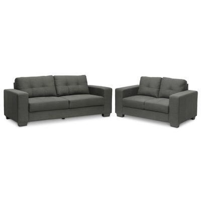 Baxton Studio 2 Piece Sofa Set