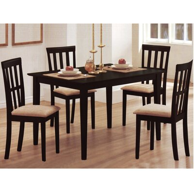Baxton Studio Jet Moon 5 Piece Dining Set