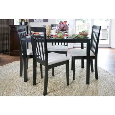 Baxton Studio Jet Warm 5 Piece Dining Set
