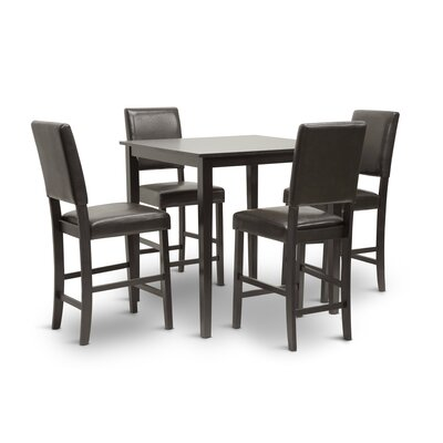 Spicer 5 Piece Counter Height Dining Set