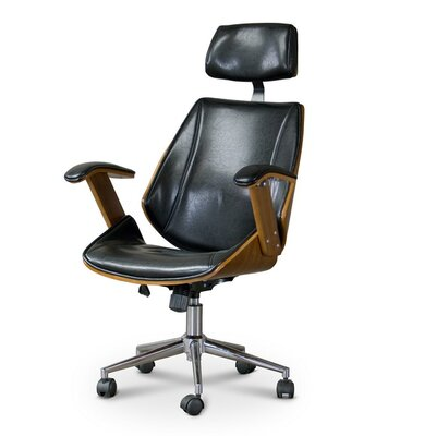 Baxton Studio Hamilton High-Back Executive Chair Product Picture 5844