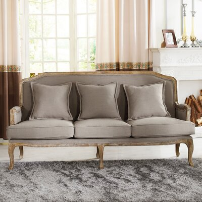 TA2256-SF-Beige WHI5435 Wholesale Interiors Baxton Studio Constanza Classic French Sofa