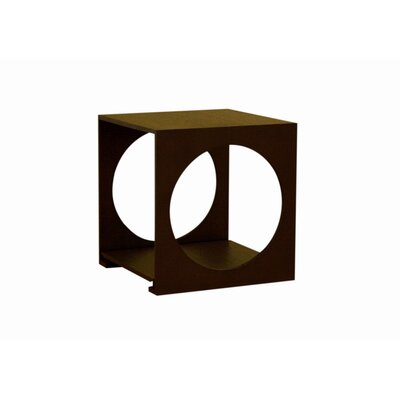 Easy financing Cognac Cube End Table...
