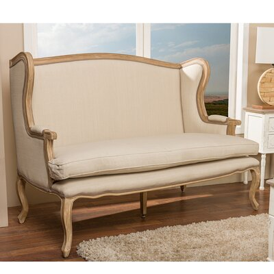 ASS363Mi CG4 WHI5986 Wholesale Interiors Beuvron Loveseat