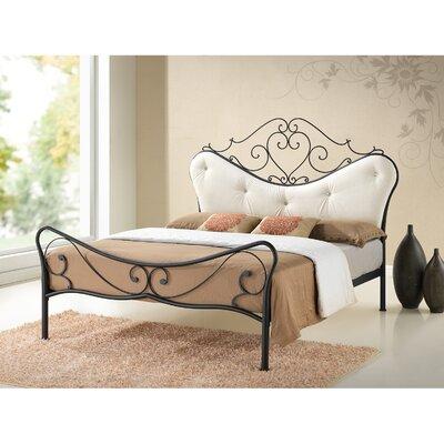 Baxton Studio Upholstered Platform Bed Size: Full