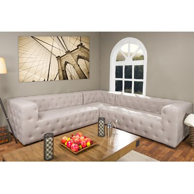 TSF-8109-Beige-SECTNL Wholesale Interiors Sectionals
