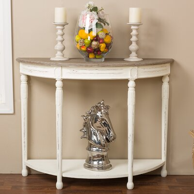 Baxton Studio Vologne Console Table