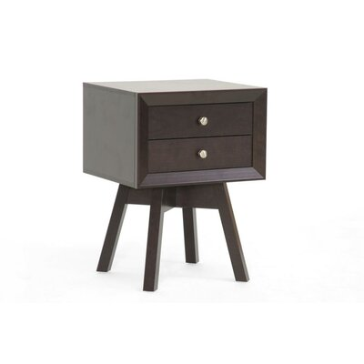 Baxton Studio Lars Side Table