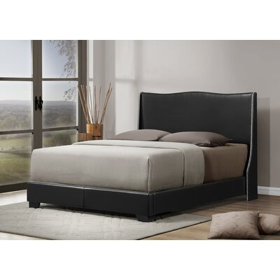 Baxton Studio Queen Upholstered Platform Bed