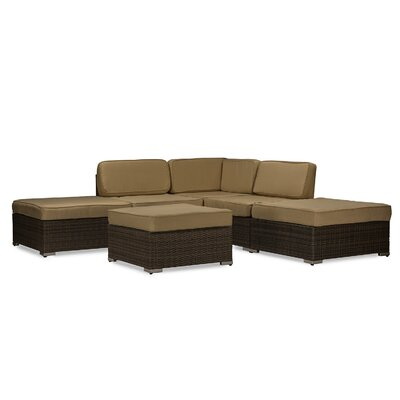 Dessie 6 Piece Deep Seating Group with Cushion