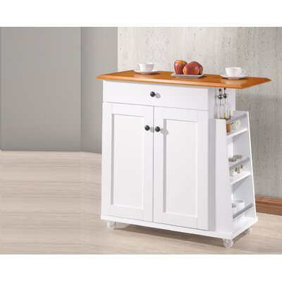 Baxton Studio Kitchen Cart