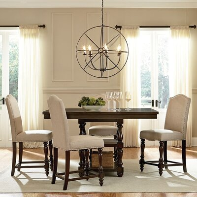 Baxton Studio 5 Piece Counter Height Dining Set