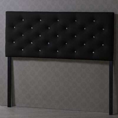 Baxton Studio Viviana Full Upholstered Panel Headboard