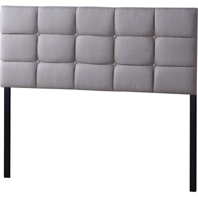Baxton Studio Jorge Upholstered Panel Headboard