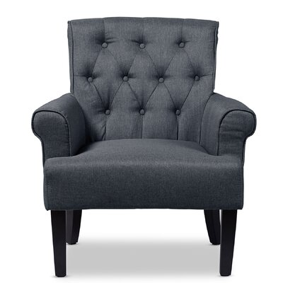 Baxton Studio Armchair Color: Gray