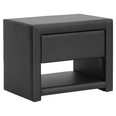 Utley Nightstand in Black