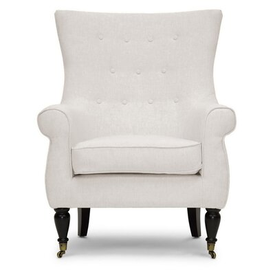 Baxton Studio Oliver Tufted Armchair
