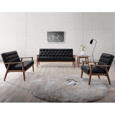 Zoee 3 Piece Living Room Set