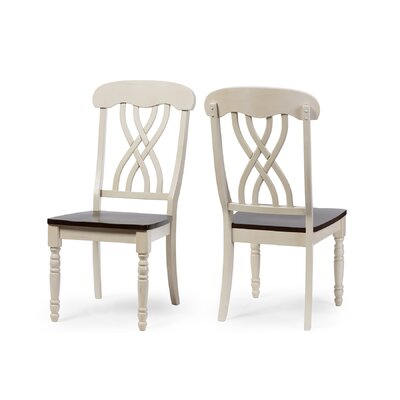 Baxton Studio Solid Wood Dining Chair