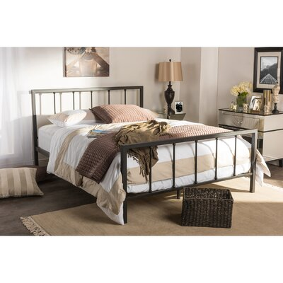 Baxton Studio Platform Bed Size: Full