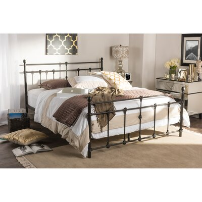 Baxton Studio Storage Platform Bed Size: Queen