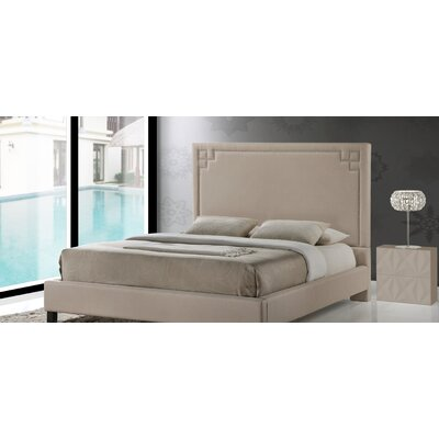 Kaplan Upholstered Platform Bed Size: Queen