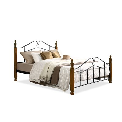 Baxton Studio Queen Platform Bed