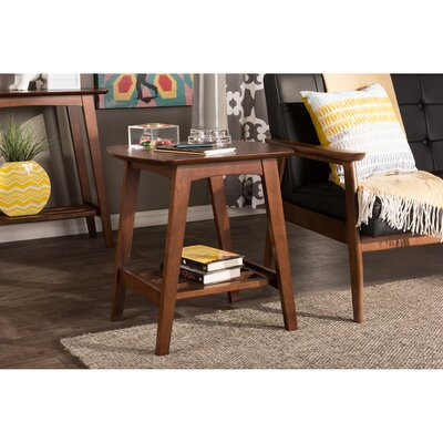 Baxton Studio Sacramento End Table