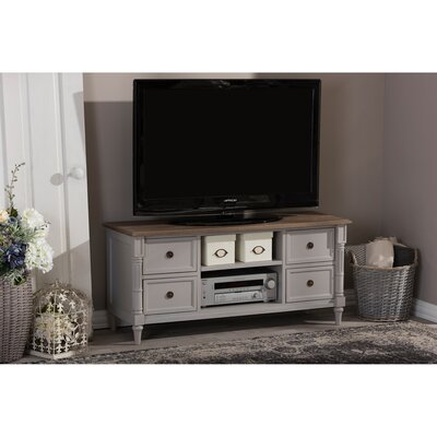 Baxton Studio Edouard Two-tone TV Cabinet