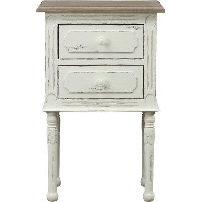 Nero 2 Drawer Nightstand