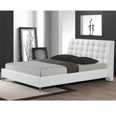 Zeller Queen Upholstered Platform Bed