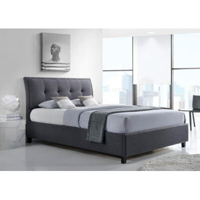 Mizuno Queen Upholstered Storage Platform Bed Color: Dark Grey