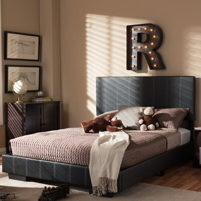 Baxton Studio Full/Double Upholstered Platform Bed