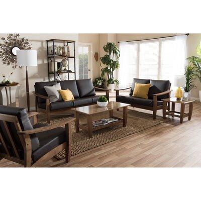Wholesale Interiors 1421-6895-6896-6897-6898-6899-WF Baxton Studio 5 Piece Living Room Set