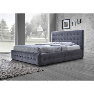 Baxton Studio King Upholstered Platform Bed