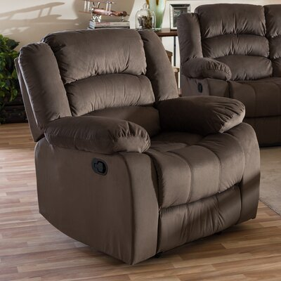Baxton Studio Manual Lift Assist Recliner
