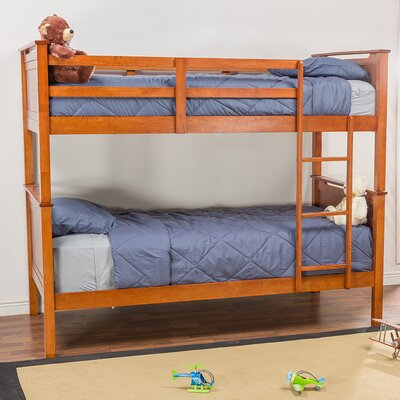 Baxton Studio Wexford Twin Bunk Bed