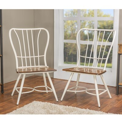 Baxton Studio Side Chair Finish: White