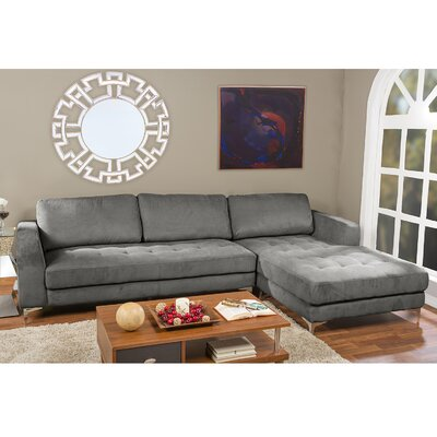 Wholesale Interiors U9320S-LRCC-RFC Sectional Baxton Studio Sectional Upholstery