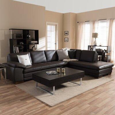 Wholesale Interiors 1421-2037-WF Baxton Studio Sectional Orientation