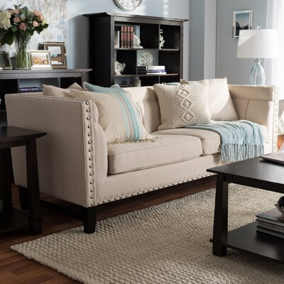 Baxton Studio Stapleton Modern Sofa Upholstery: Beige