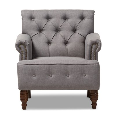 Maria Armchair Upholstery: Light Gray