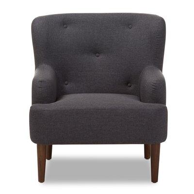 Aria Armchair Upholstery: Dark Gray