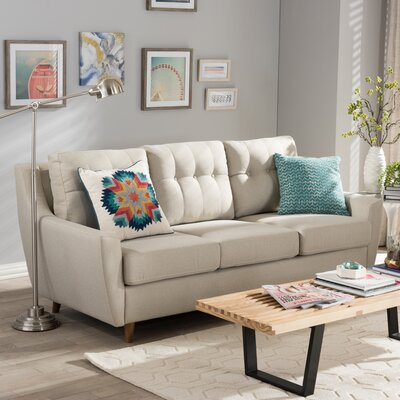Alcee Sofa Upholstery Color: Light Beige