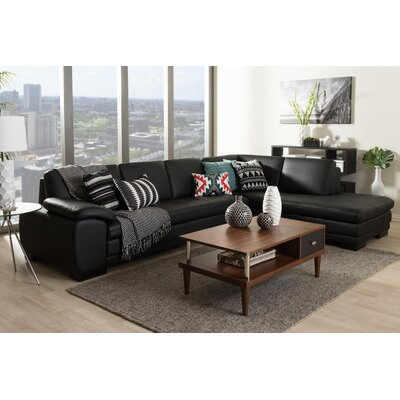 Wholesale Interiors 625-M9812-Sofa/lying Baxton Studio Sectional