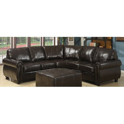 Wholesale Interiors 9178 4pc Sectional Set Baxton Studio Sectional